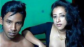 Teeny Melagrin Indian couple in bukkake with men