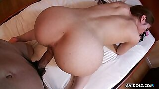 Japanese BBW And Big Booty Horny Asian