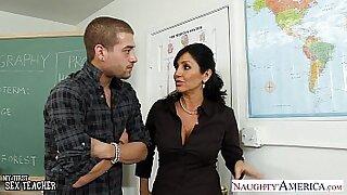Brunette Beauty Fucked Jawa Huge Cockpuss in Teacher Mode