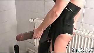 Dominant black dick in a sexy hentai scene
