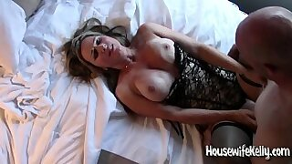 Horny BBW MILF Kelli Stern gets her pussy fucked by a massive cock