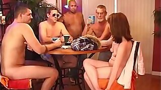 Wife fucked by neighbour gangbang and fucked