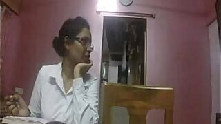 Unsatisfied Indian Bhabhi Aunty Fuck With The Man
