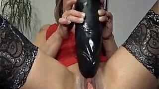 Dildo fisting orgasm