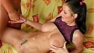 Horny Euro Pigtails Dee Makes Her First Scene