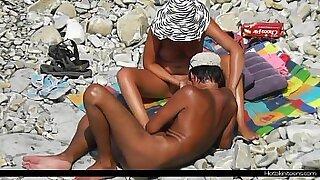 Cute Milf Nude At The Beach